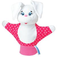 Купить Мягкая игрушка на руку Зайка , 22 см, в ассортименте, ФОКС, Кукольный театр