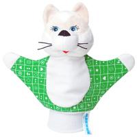 Купить Мягкая игрушка на руку Котенок , 22 см в ассортименте, Мякиши, Кукольный театр