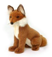 Купить Мягкая игрушка Hansa Лиса , 28 см, Hansa Toys, Мягкие игрушки