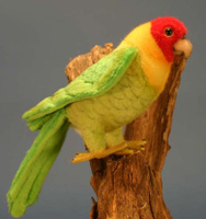 Купить Hansa Мягкая игрушка Каролинский попугай 17 см, Hansa Toys, Мягкие игрушки