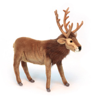 Купить Hansa Мягкая игрушка Северный олень 35 см, Hansa Toys, Мягкие игрушки