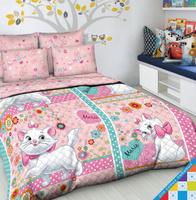Купить Покрывало детское Василек Дисней, 145 см х 205 см, цвет: розовый. 4499/пд, Пледы и покрывала