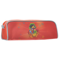 Купить Пенал на молнии JOYFUL BIRDIE, без наполнения, 1 отделение, цвет: красный, Tiger Enterprise