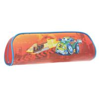 Купить Пенал на молнии CRAZY DRIVING, без наполнения, 1 отделение, цвет: красный, Tiger Enterprise