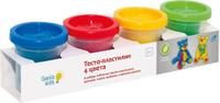 Купить Genio Kids Набор для детского творчества Тесто-пластилин 4 цвета TA1008, Dream Makers, Пластилин