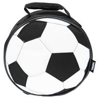 Купить Сумка-термос Lunch Kit Black Soccer для ланча, детская, цвет: черный, белый, Thermos