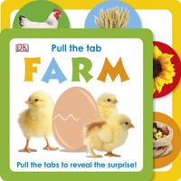 Купить Pull the Tab: Farm, Первые книжки малышей