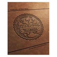 Купить Тетрадь с твердой обложкой 80л А5ф 2 х цв. блок клетка на гребне Гербовая печать, Hatber
