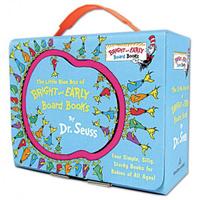 Купить The Little Blue Box of Bright and Early Board Books by Dr. Seuss, Зарубежная литература для детей