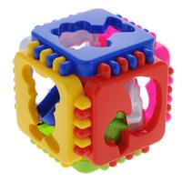 Купить Развивающая игра-сортер Stellar Логический кубик. Веселые зверята