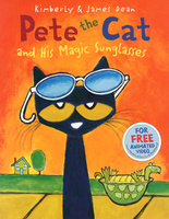Купить Pete the Cat and His Magic Sunglasses, Зарубежная литература для детей