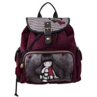 Купить Рюкзак молодежный Santoro Gorjuss , цвет: бордовый, серый, Kinderline International Ltd.