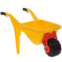 Купить Тачка детская Полесье Садовод , цвет: желтый, Игрушки для песочницы