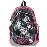 Купить Рюкзак детский Monster High , цвет: черный, белый, розовый, бирюзовый. MHBB-RT3-976, Kinderline International Ltd.