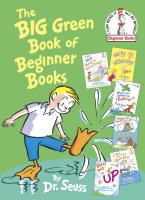 Купить The Big Green Book of Beginner Books, Зарубежная литература для детей