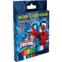 Купить Восковые мелки, 12 цветов Spider-man Classic, Мелки и пастель