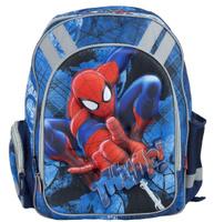 Купить Рюкзак школьный Spider-Man , цвет: темно-синий, голубой. SMCB-RT2-836E, Kinderline International Ltd.