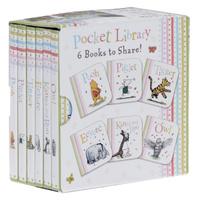 Купить Winnie-the-Pooh Pocket Library (комплект из 6 книг), Зарубежная литература для детей
