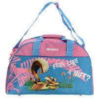 Купить Сумка спортивная детская Ice Age 3 , цвет: голубой, розовый, Kinderline International Ltd.