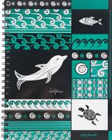 Купить Тетрадь на спирали Дельфин , 120 листов. Формат А4, Полиграфика, Тетради
