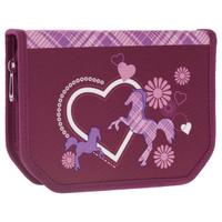 Купить Пенал Tiger Family Classic Collection , с наполнением, цвет: фиолетовый, 22 предмета, Tiger Enterprise, Пеналы
