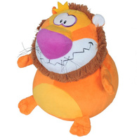 Купить Мягкая игрушка Лев-шарик В29, СмолТойс, Мягкие игрушки