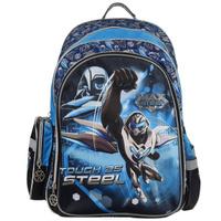 Купить Рюкзак подростковый Centrum Max Steel , цвет: синий, черный, голубой, Ранцы и рюкзаки