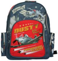 Купить Рюкзак школьный Kinderline Planes , цвет: серый, красный, Kinderline International Ltd.