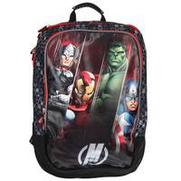 Купить Рюкзак школьный Мстители , цвет: черный, серый, красный. 25902, Росмэн