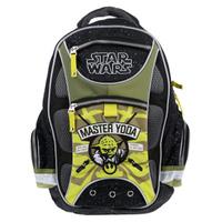 Купить Рюкзак школьный Star Wars Master Yoda , цвет: черный, зеленый, Erich Krause Deutschland GmbH