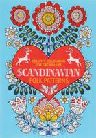 Купить Scandinavian Folk Patterns: Creative Colouring for Grown-Ups, Раскраски на любой вкус