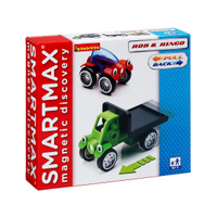 Купить Bondibon Smartmax Конструктор магнитный Специальный инерционный набор Роб и Ринго, Bondibon Creatures Co., LTD