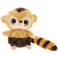 Купить Игрушка мягкая Aurora Юху и друзья. Обезьяна Капуцин , цвет: желтый, коричневый, 22 см, Мягкие игрушки