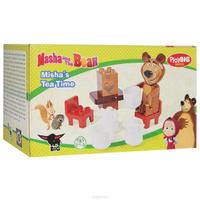 Купить Конструктор Play Big Маша и Медведь. Мишка на кухне , 11 элементов, BIG SPIELWARENFABRIK GmbH & Co. KG