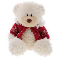 Купить Мягкая игрушка Plush Apple Медведь в свитере , 30 см, Kids First Toys Co., LTD