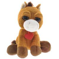 Купить Мягкая игрушка Plush Apple Лошадка с сердечком , 23 см, Kids First Toys Co., LTD