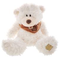 Купить Plush Apple Мягкая игрушка Белый медведь с шарфом , 25 см