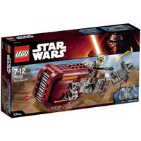 Купить LEGO Star Wars Конструктор Спидер Рей 75099