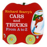 Купить Cars and Trucks: From A to Z, Зарубежная литература для детей