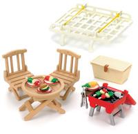 Купить Sylvanian Families Игровой набор Семейный пикник с багажником для автомобиля, Sylvanian Families, 17687966, Фигурки