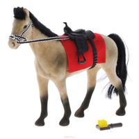 Купить Играем вместе Фигурка Лошадь , цвет: серый, черный, Shantou City Daxiang Plastic Toy Products Co., Ltd, Фигурки