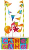 Купить Веселая затея Декор-комплект для украшения торта Мозаика , General Consolidated Impex Company
