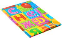Купить Веселая затея Скатерть С Днем Рождения! Мозаика , 130 см х 180 см, General Consolidated Impex Company