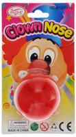 Купить Клоунский нос Феникс-презент Клоун , цвет: красный, диаметр 5 см, Феникс-Презент, Аксессуары для детского праздника