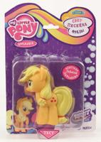 Купить My Little pony Пластизоль Эпл Джек со светом и звуком
