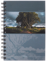 Купить Полиграфика Тетрадь в клетку Панорама. Дорога , 120 листов, формат А5, Тетради
