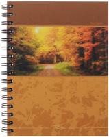 Купить Полиграфика Тетрадь в клетку Панорама. Осень , 120 листов, Тетради
