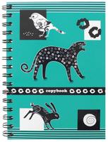 Купить Полиграфика Тетрадь в клетку Контрастная открытка. Пантера , 120 листов