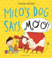 Купить Milo's Dog Says MOO!, Зарубежная литература для детей