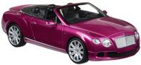 Купить Rastar Радиоуправляемая модель Bentley Continental GT Speed Convertible цвет малиновый, Машинки